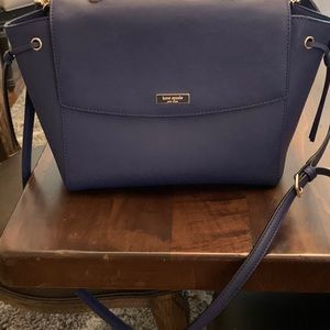 Royal Blue Kate Spade Satchel in mint condition!
